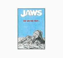 JAWS hand drawn movie poster in pencil Unisex T-Shirt