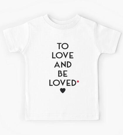 TO LOVE... Kids Tee