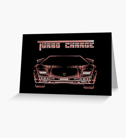 Turbo Charge Greeting Card