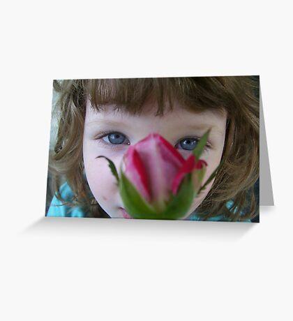 Rose Nose Greeting Card
