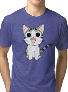 Chi The Cat Tri-blend T-Shirt