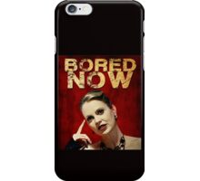 Pam is bored (I'd start running) iPhone Case/Skin