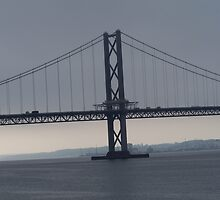 Forth Road Bridge by maggibash