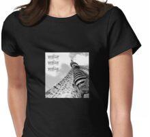 Shanti (Peace) Womens Fitted T-Shirt