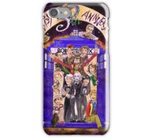 Crowded in the TARDIS (Doctor Who 50th Anniversary) iPhone Case/Skin