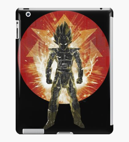 red sayan storm iPad Case/Skin