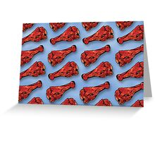 Buffalo Chicken Wings Forever Greeting Card