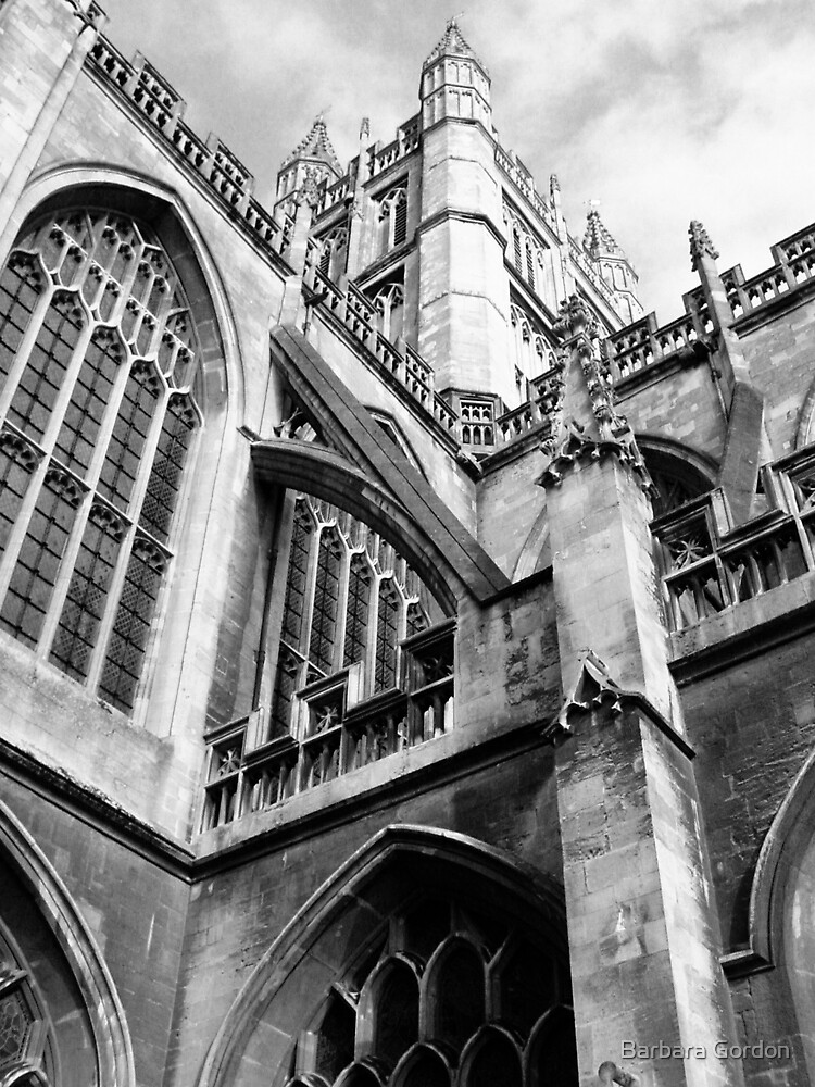Bath Abbey by Barbara Gordon