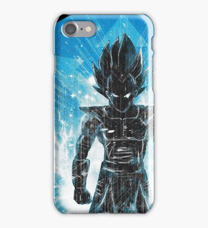blue super sayan iPhone Case/Skin