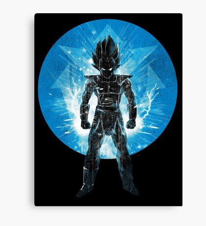 blue super sayan Canvas Print