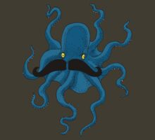 Octopus with a Mustache by SusanSanford