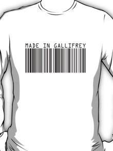 Made In Gallifrey T-Shirt