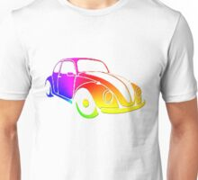 VW Bug hippie tie dye Unisex T-Shirt