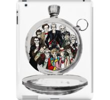 The clock strikes 12 iPad Case/Skin