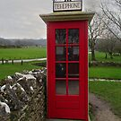 Phone Box in the Abandoned Village of Tyneham, Dorset by trish725