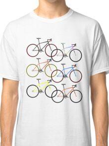 Road Bike Multi Coloured Classic T-Shirt