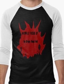 Naturally Fucked Up Men's Baseball ¾ T-Shirt