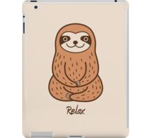 Cute Little Sloth iPad Case/Skin