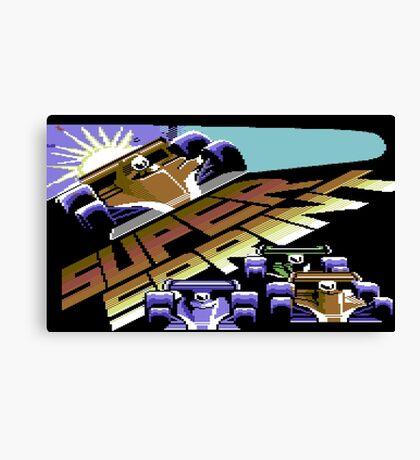 Super Sprint Canvas Print