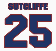 National baseball player Butch Sutcliffe jersey 25 by imsport