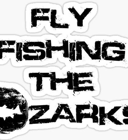 Fly Fishing The Ozarks Logo Gear Sticker