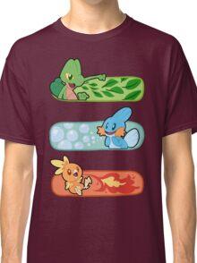 Pokemon / Hoenn Starters - Omega Ruby Classic T-Shirt