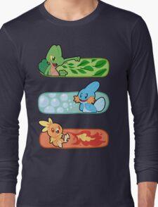 Pokemon / Hoenn Starters - Omega Ruby Long Sleeve T-Shirt