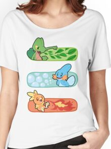 Pokemon / Hoenn Starters - Omega Ruby Women's Relaxed Fit T-Shirt