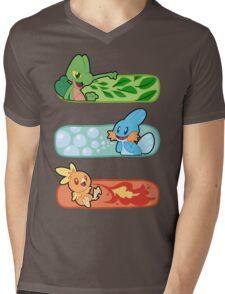 Pokemon / Hoenn Starters - Omega Ruby Mens V-Neck T-Shirt
