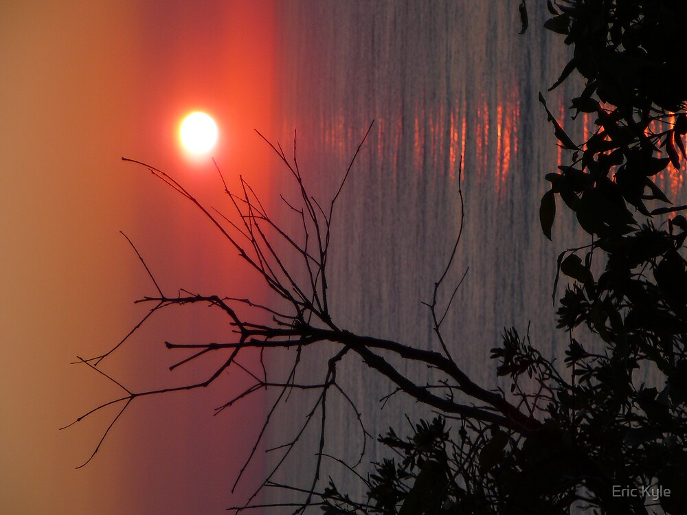 SUNRISE AT VALLA BEACH AUGUST 2nd by Eric Kyle