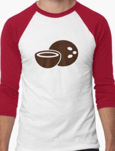 Coconut Men's Baseball ¾ T-Shirt