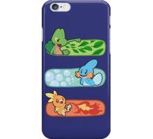 Pokemon / Hoenn Starters - Alpha Sapphire iPhone Case/Skin