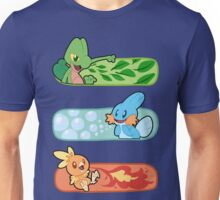 Pokemon / Hoenn Starters - Alpha Sapphire Unisex T-Shirt
