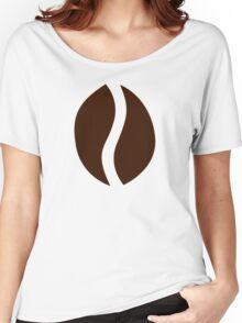 Coffee bean Women's Relaxed Fit T-Shirt