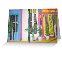 Miami beach -Art Deco Region Greeting Card