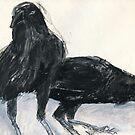 Australian Raven2 by WoolleyWorld