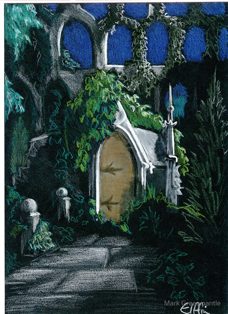 Garden Archway by Mark Greenmantle