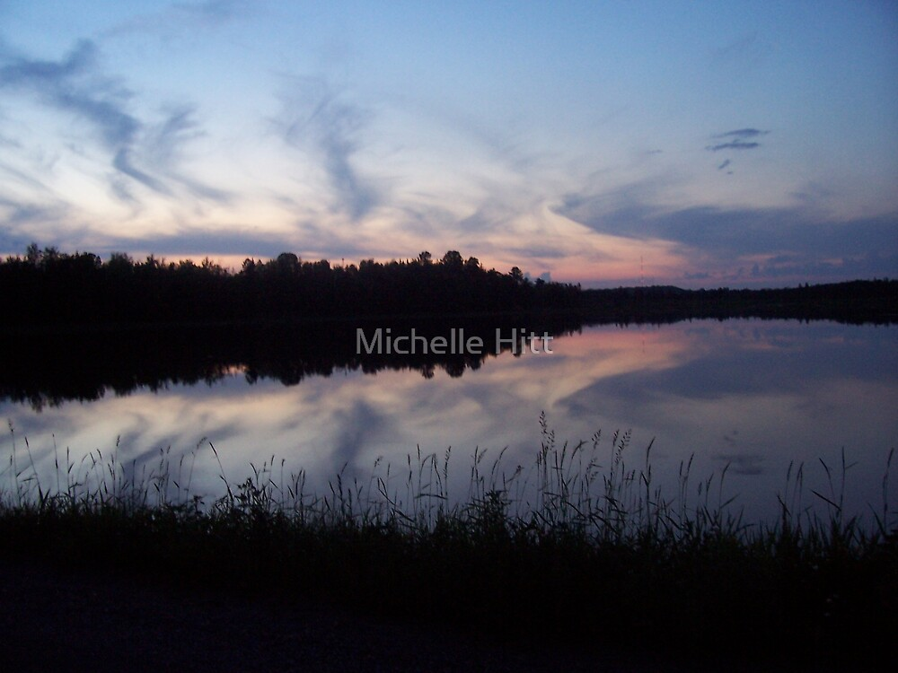 Sunset Reflections by Michelle Hitt