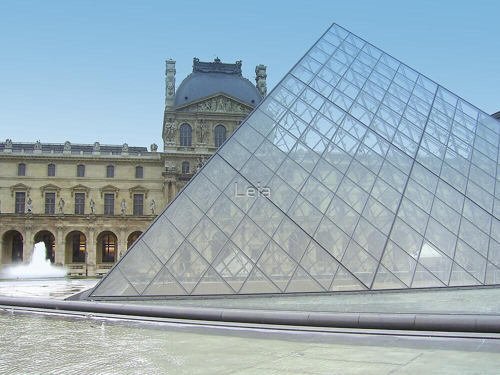 Deserted Louvre by Leia