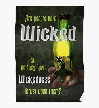 Are People Born Wicked? Poster