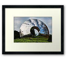 Portal Sculpture Framed Print