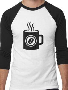 Cup of coffee Men's Baseball ¾ T-Shirt