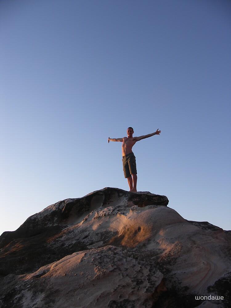 Embrace the world by wondawe