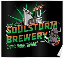 Greetings From Soulstorm brewery Poster