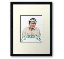 Markiplier (Level: Flower crown) 2.0 Framed Print