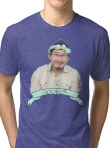 Markiplier (Level: Flower crown) 2.0 Tri-blend T-Shirt