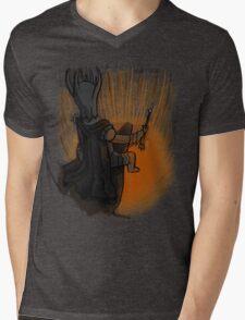 Sauron's Marshmallow Break Mens V-Neck T-Shirt