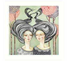 Telepathy Art Print