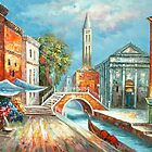 Before the Storm, Venice Oil Painting by LesMoments Oil Painting