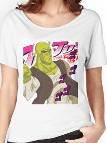 Shrek Bizzare Adventure Women's Relaxed Fit T-Shirt